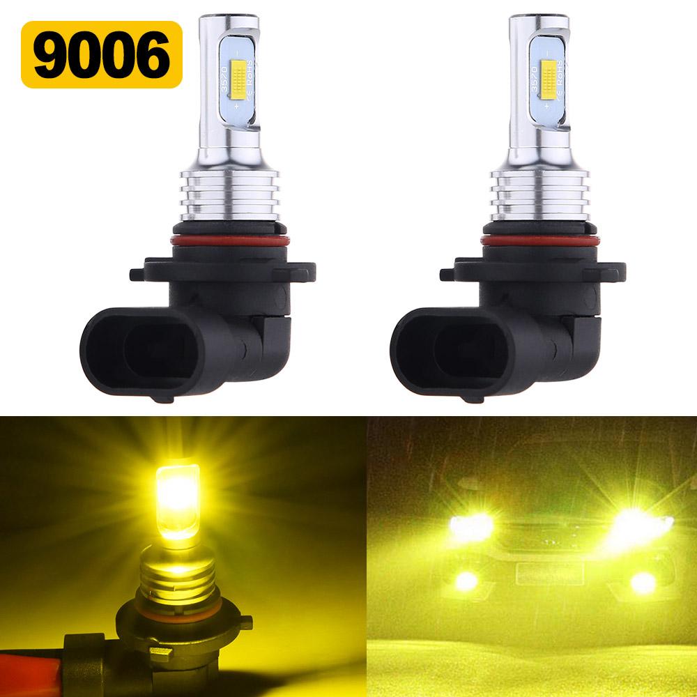LED MAGNUM 2005-2008 Headlight Kit 9006 HB4 6000K White CREE Bulbs Low Beam
