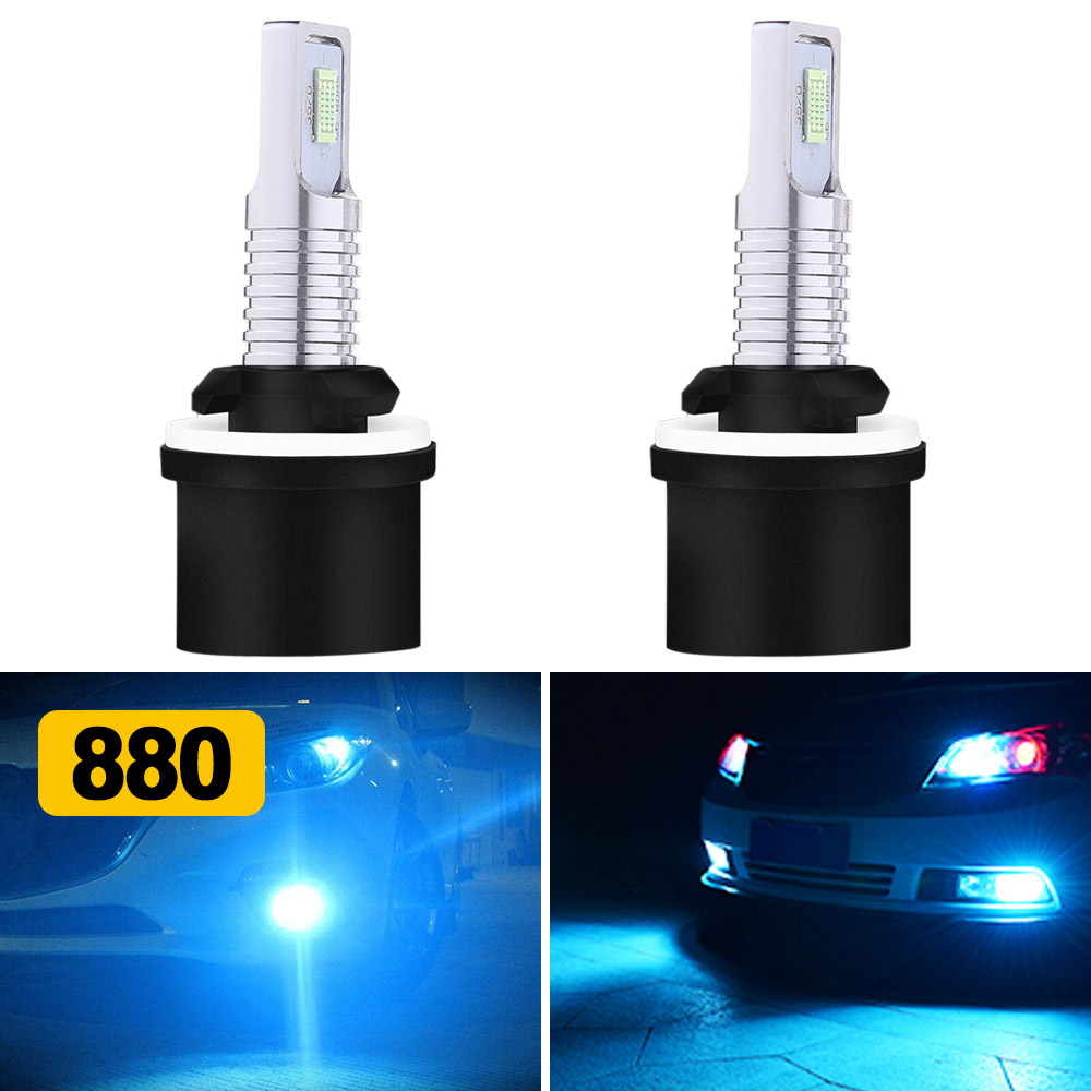 55W 50W 9145 9140 H10 HID Driving Fog Light Replacement Bulbs 8000K