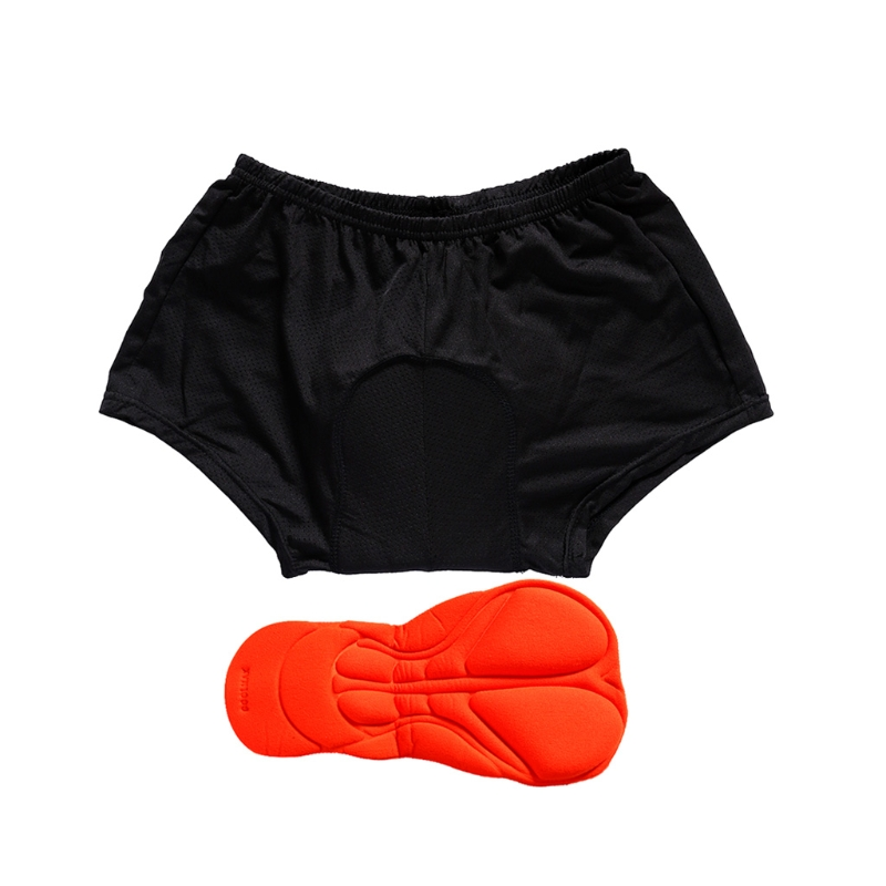 Men/Women MTB Cycling Quilted Underwear Bicycle Silicon Gel Padded ... : quilted underwear - Adamdwight.com