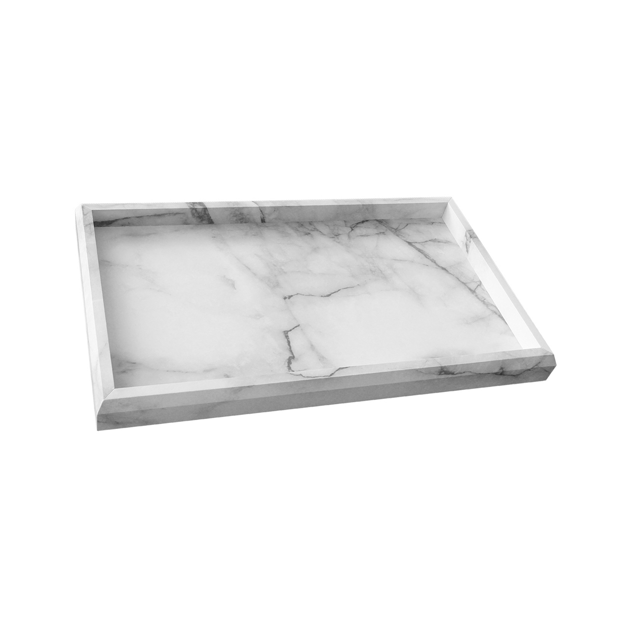 ark decorative in weavers p b white glass artistic tray x decor rustic a trays home