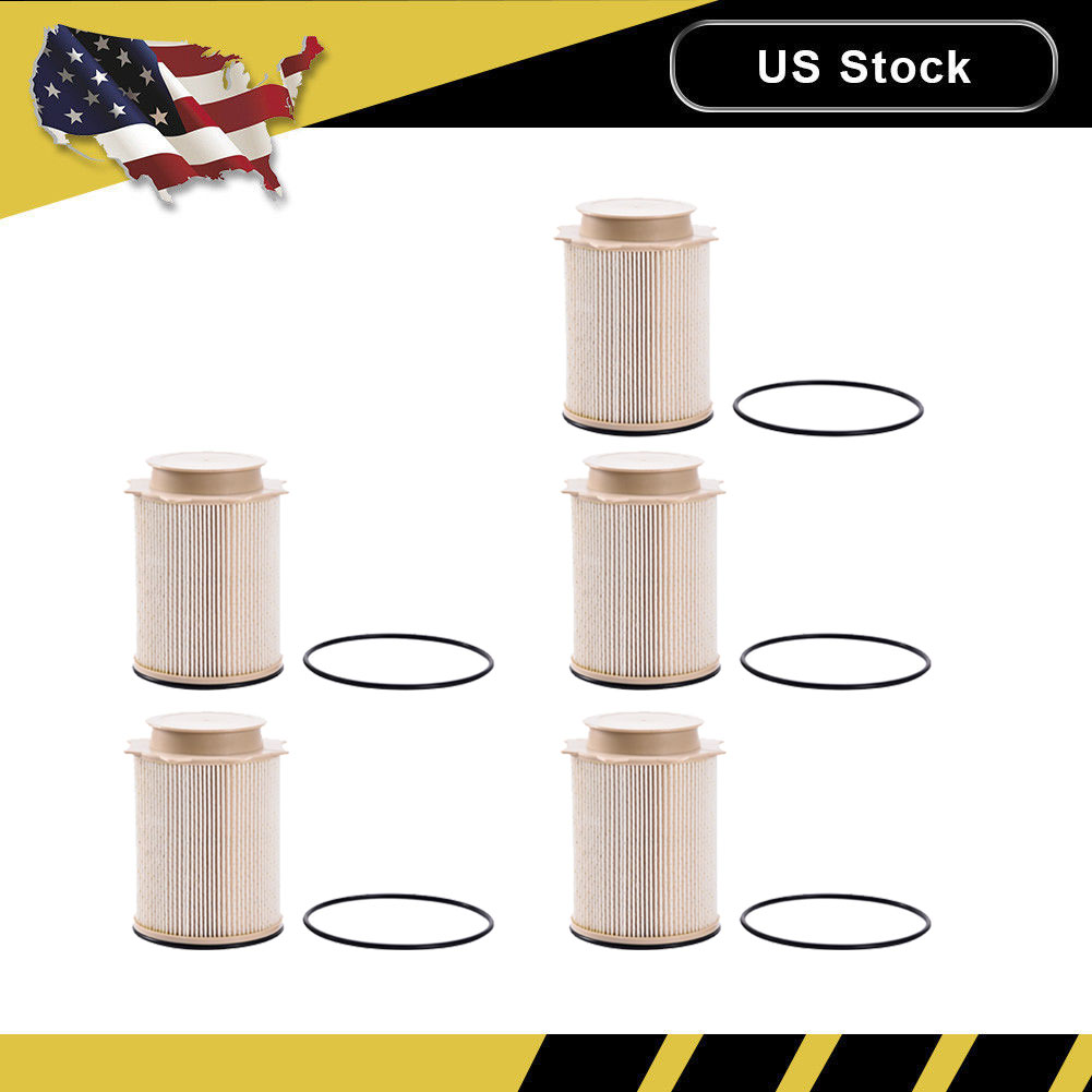 5x diesel hd fuel filters oe 68157291aa 68065608aa for. Black Bedroom Furniture Sets. Home Design Ideas