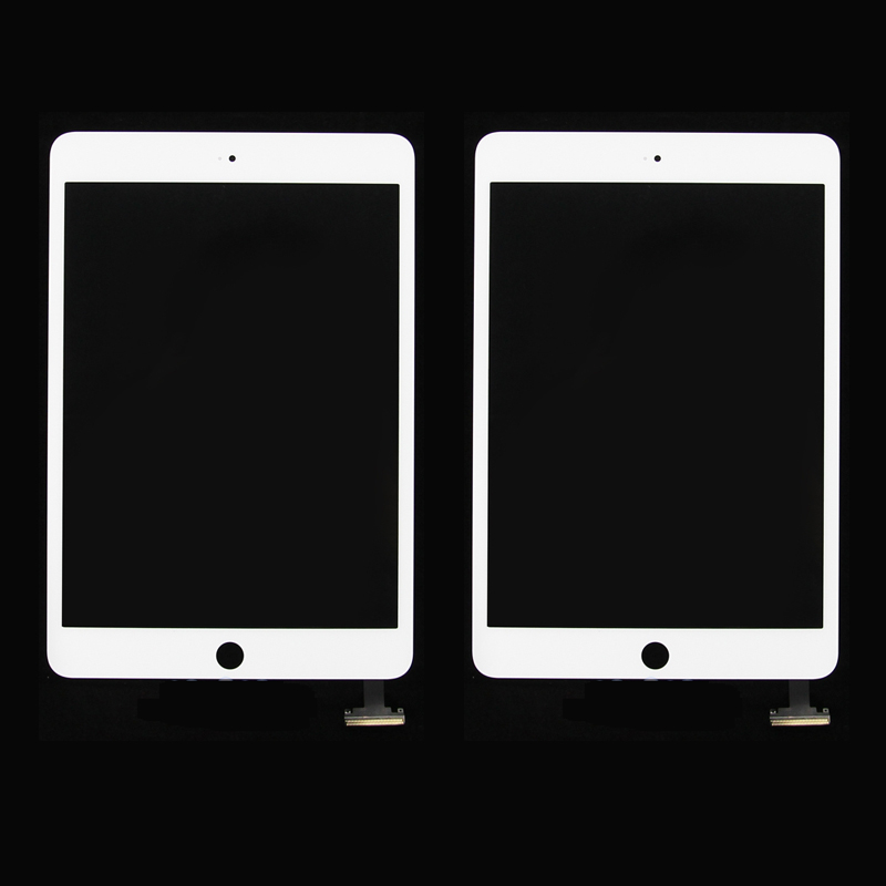 For iPad mini 1 2 Black White Digitizer Front Touch Screen Glass Replacement