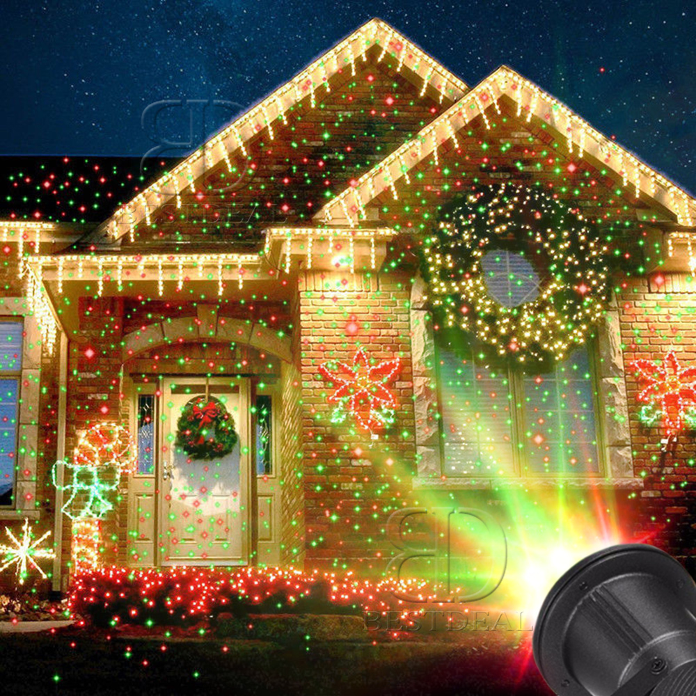 Starry Sky Laser Fairy Light LED Wall Projector Christmas Lamp ...