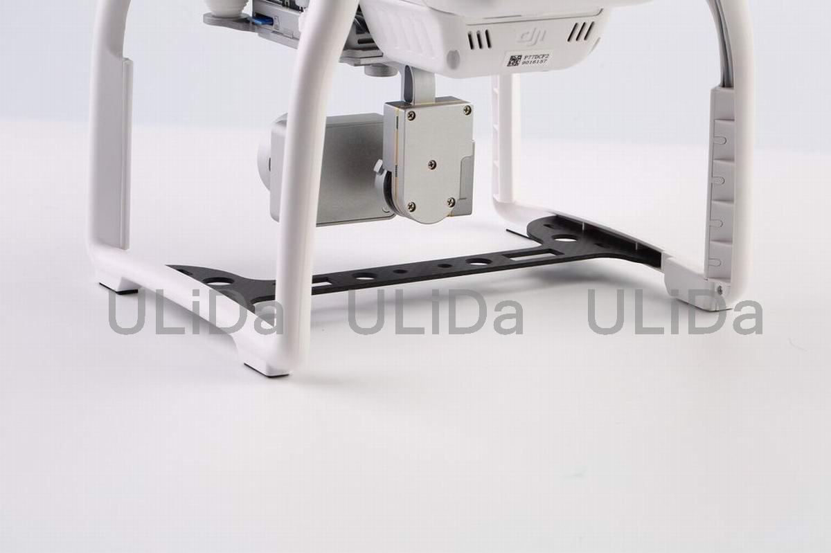 Details about P3A/P Carbon Fiber Camera Gimbal Guard For DJI Phantom 3  Gimbal Protector Plate