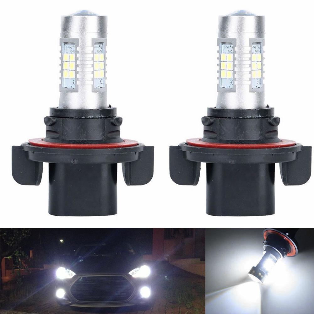 NEW100W LED Headlights Bulbs FOR POLARIS Ranger RZR 570S 800S 900S 1000 XP Turbo