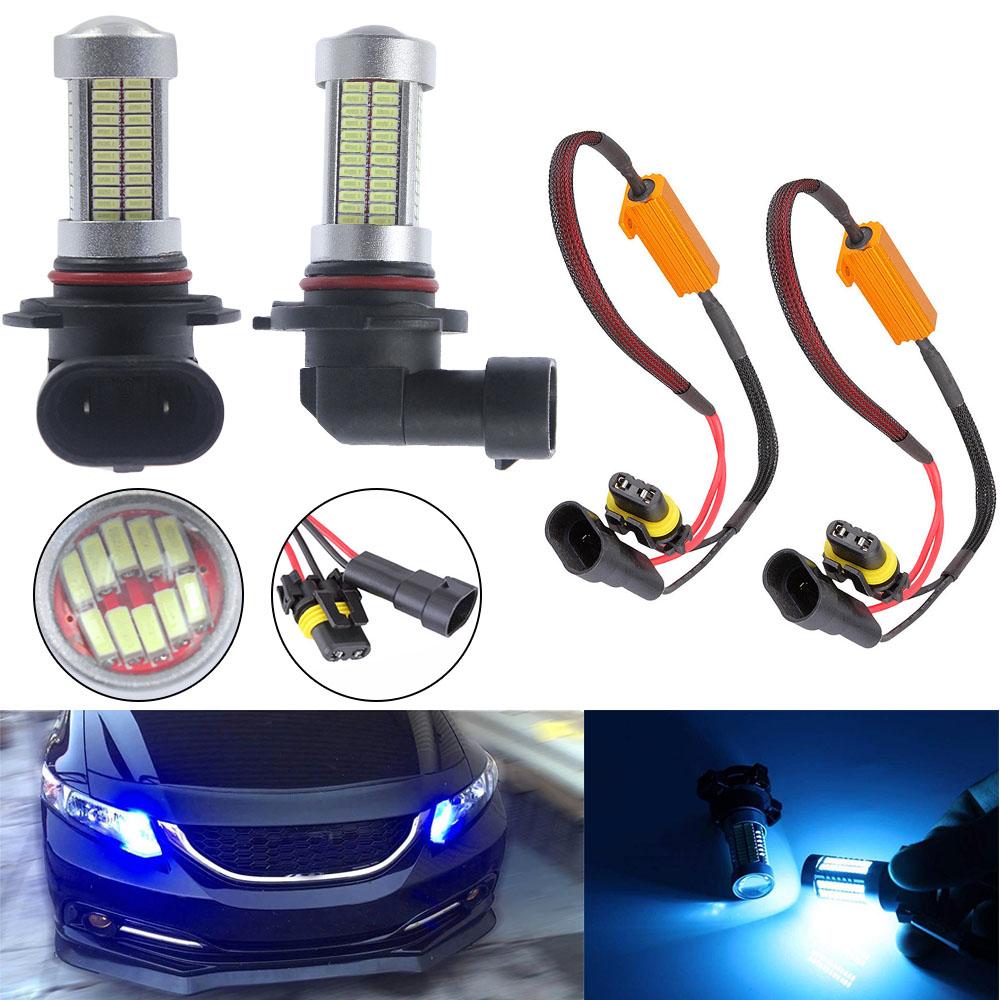 8000K Blue 9005 HB3 LED Daytime Running Light Upgrade Kit