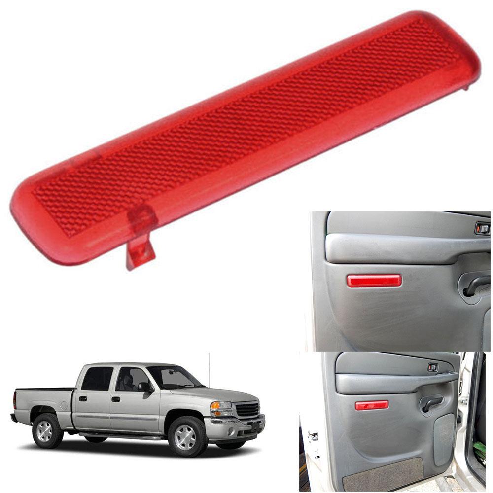 Chevrolet GMC Truck SUV Interior Door Pannel Light Lense Reflector Rear Doors