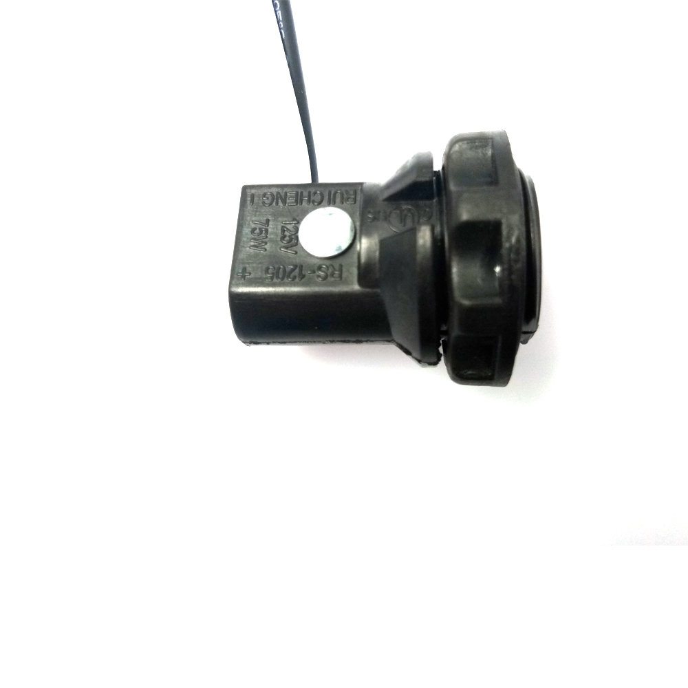 6pcs Candelabra  E12  Base Socket Screw Ring 6 U0026quot  Wire Leads