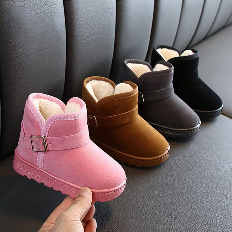 Casual Cotton Shoes Girls Winter Boots Snow Boots Outdoor Boots