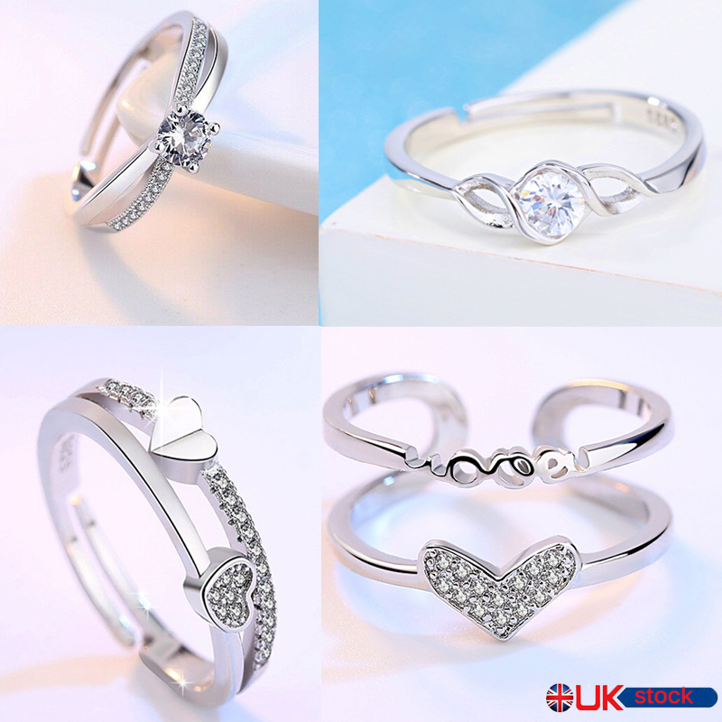Toe Ring Sterling Silver Adjustable Stacking Midi Ring Knuckle Wishbone Ring