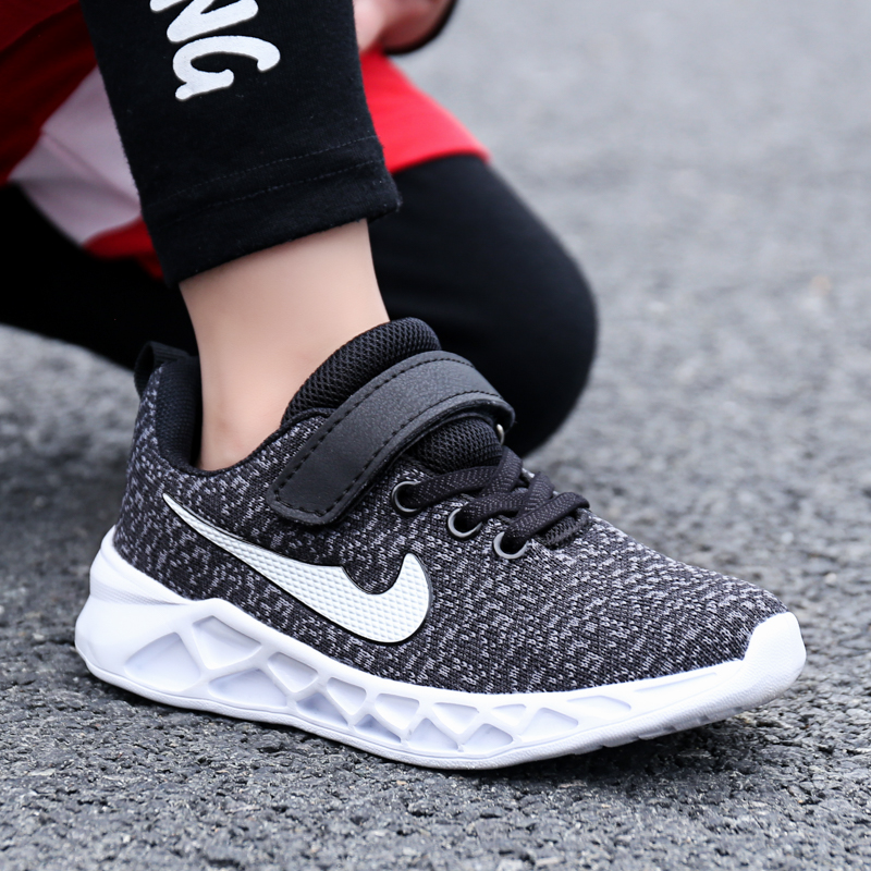 Girls Boys Running Trainers Kids Casual Comfort Sports Mesh Sneaker Shoes Size