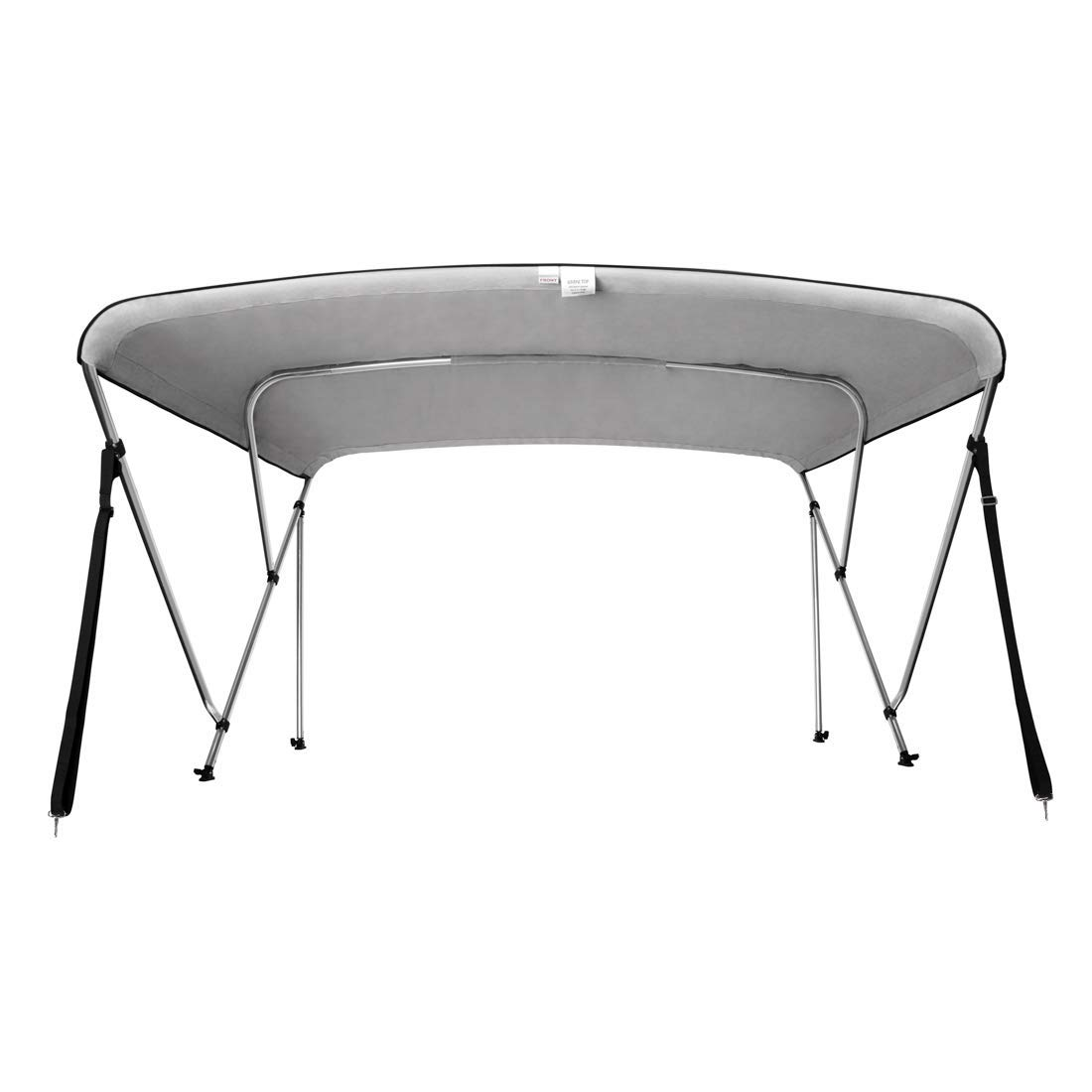 "VIVOHOME 73-78/"" Folding Boat Kayak Bimini Shade Canopy Top Cover Sun Shelter New"