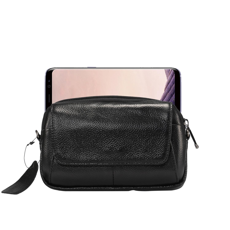 Men-Small-Leather-Shoulder-Bag-Crossbody-Messenger-Belt-Pouch-Phone-Case-Holster