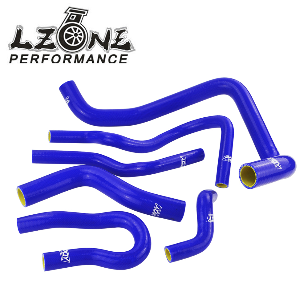 Silicone Radiator Hoses silicone blue Auto Radiator hose kit for D15 D16 SOHC EG//EK 1992-2000 9Pcs Blue Hose for Car