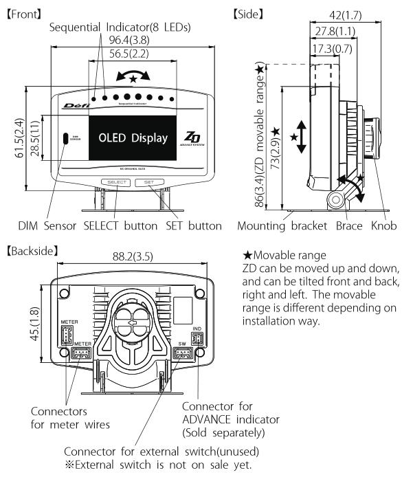 Hq Oil Control Unit: Fifth Gen Defi Advance ZD Control Unit PKG W/Cu/Oil Press