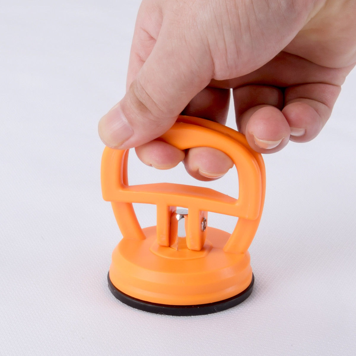 Suction Cup Puller 2pcs Orange Single Head Dent Lifter