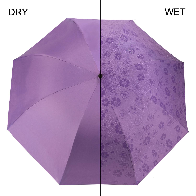 Travel Portable Scallop Edge Windproof Anti-UV Compact Folding Sun Rain Umbrella