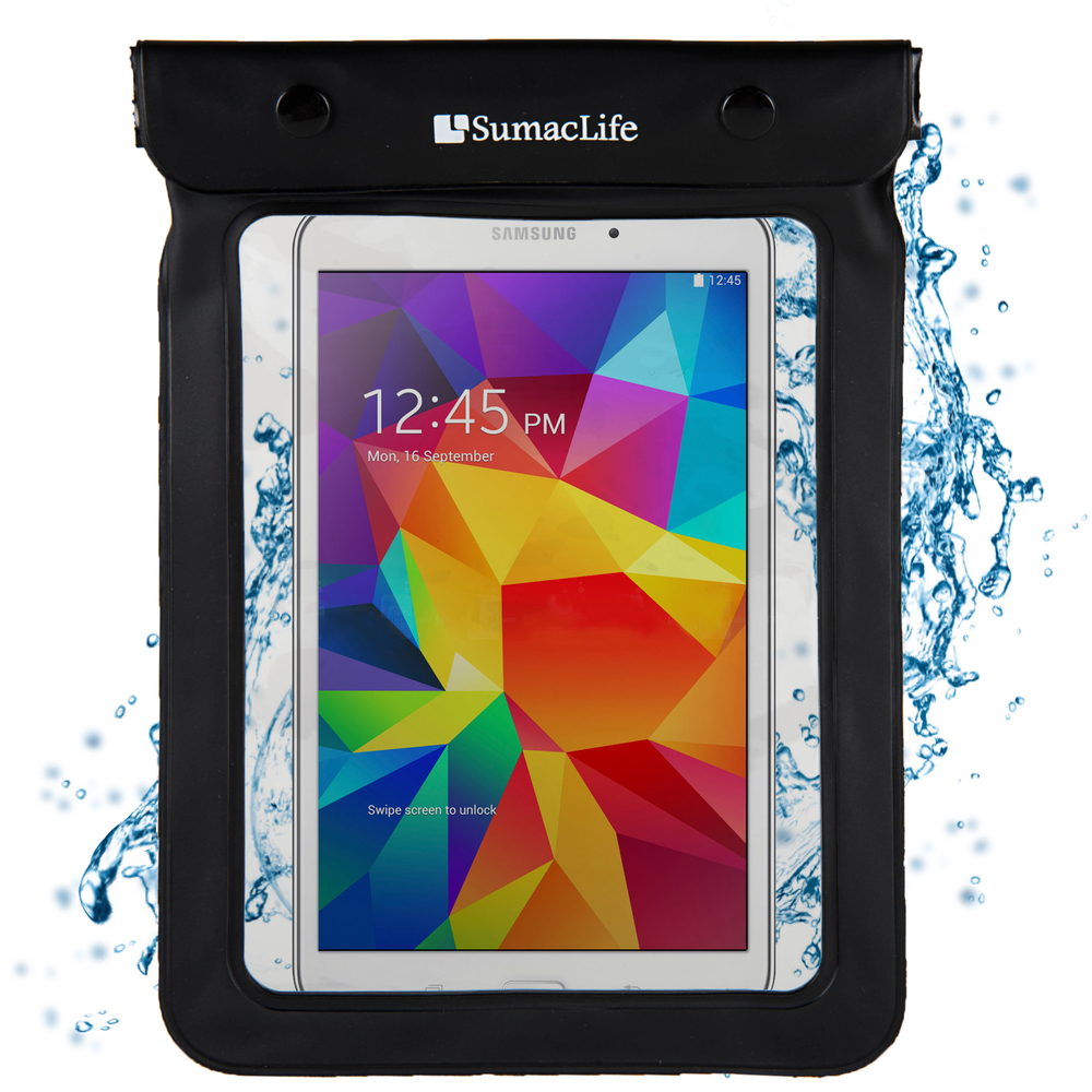 new concept 5072f ba682 Details about New Waterproof Cover Tablet Pouch Bag For Samsung Galaxy Tab  A / Tab E / Active