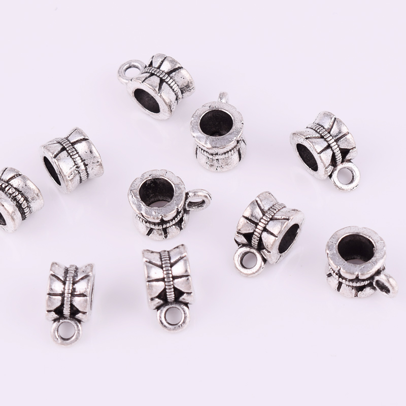 Antique Silver Charms Beads Bails Connectors Crafts Pendants Crafts DIY Making