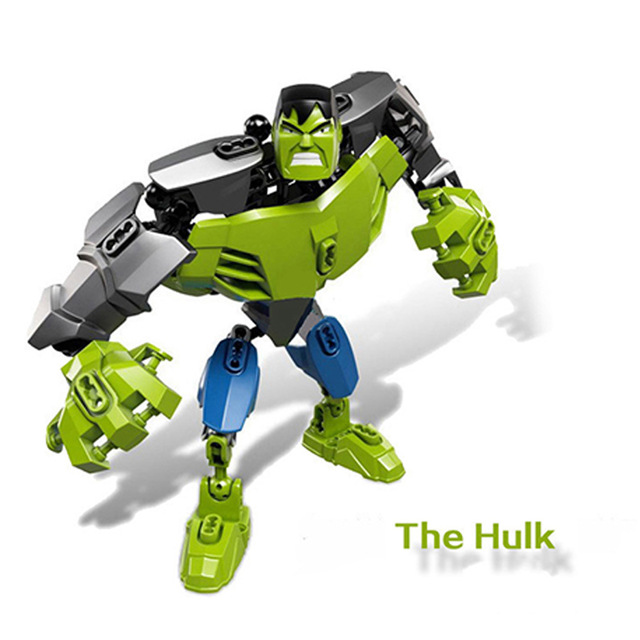 Captain-American-Iron-Man-The-Avengers-Alliance-Batman-Hulk-Assemble-Model-Toys