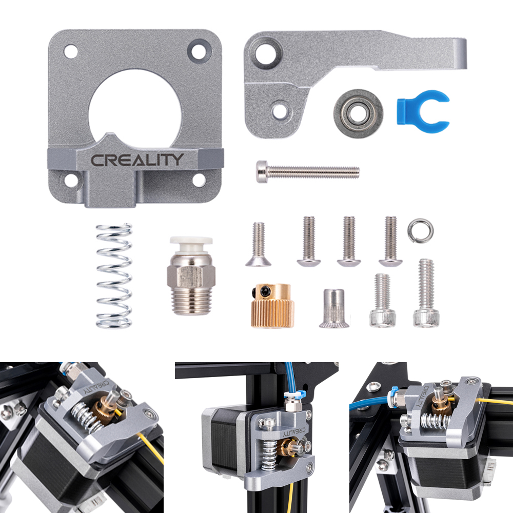 Extruder Upgrade Drive Feed Kit Aluminum For Creality Ender 3 CR-10S 3D Printer