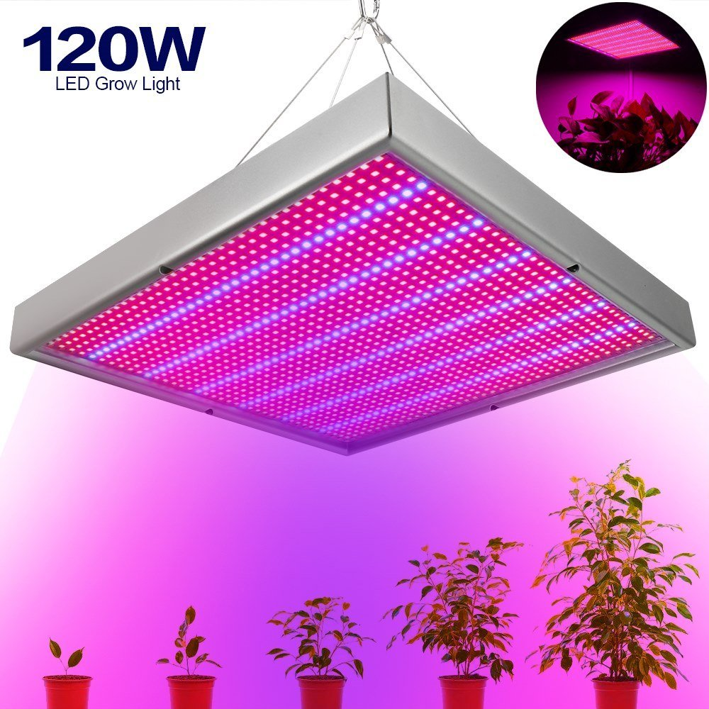 Rot Blau LED Grow Licht Pflanzenlampe Lampe 120W fur tdshQrC