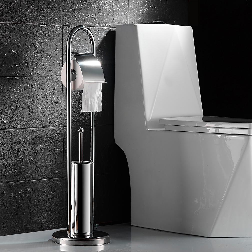 wc garnitur papierrollenhalter set toilettenb rste st nder klob rste edelstahl ebay. Black Bedroom Furniture Sets. Home Design Ideas
