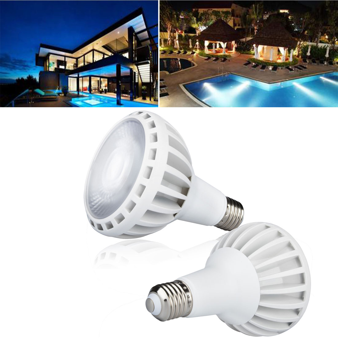 120V COB Swimming Pool Led Underwater Light Replacement