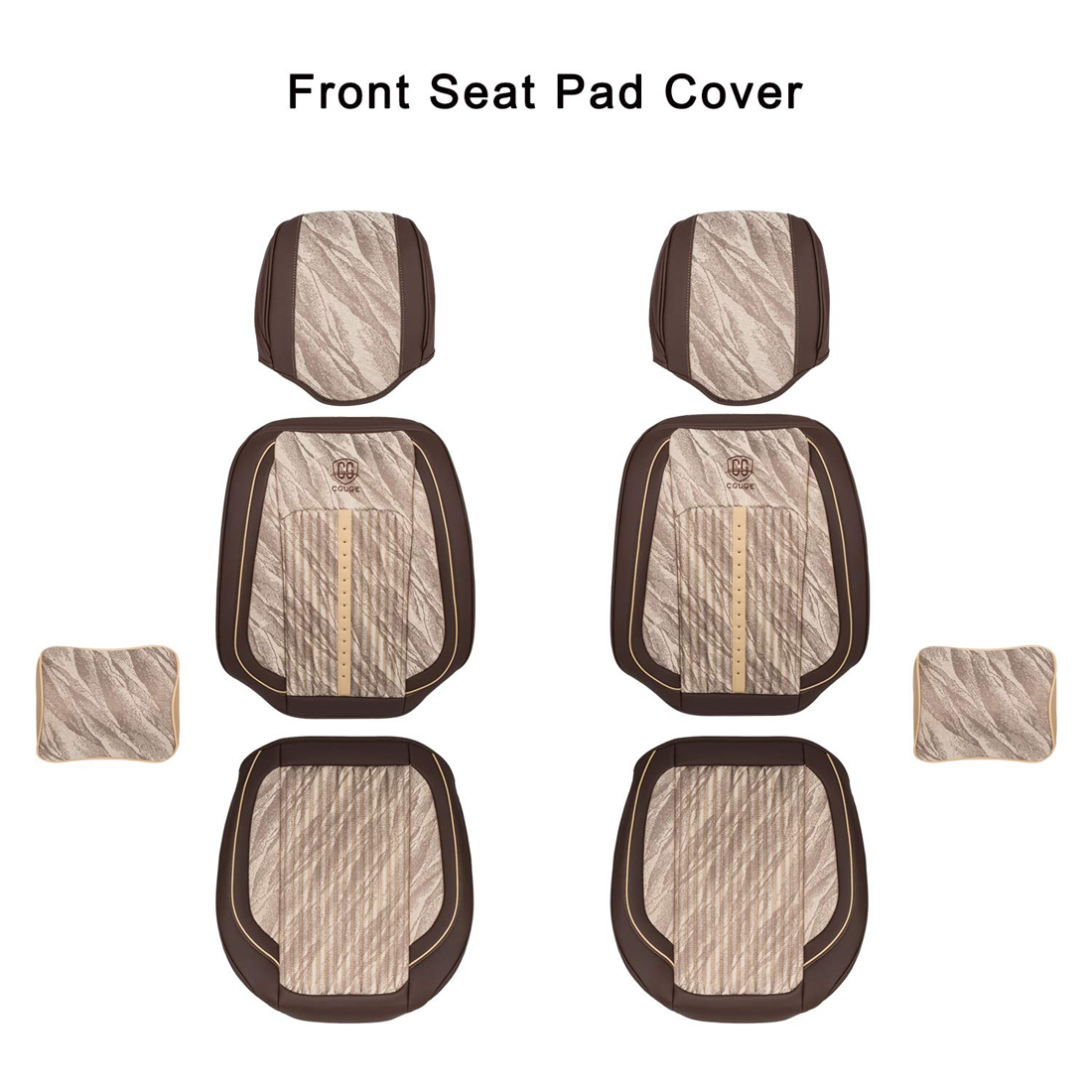 Universal Leather Full Set Car Seat Covers All Season
