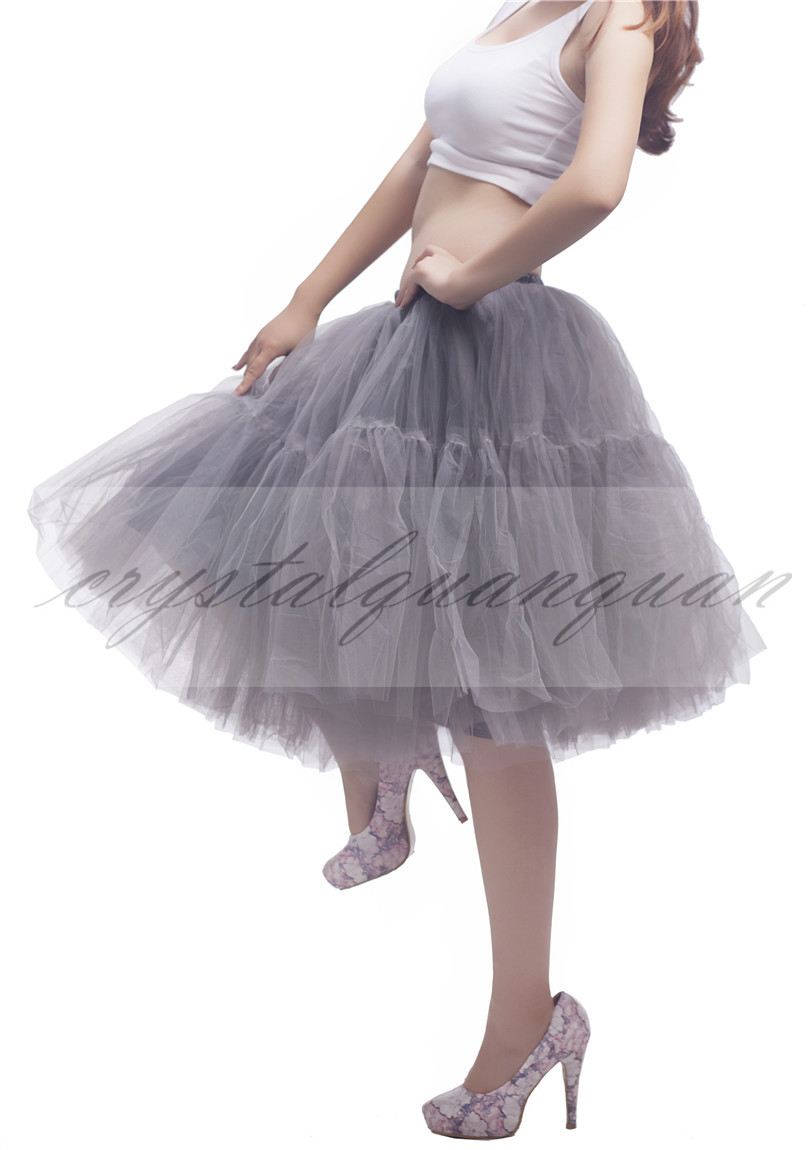 Layers tulle petticoat swing vintage tutu grace wedding for Tulle petticoat for wedding dress