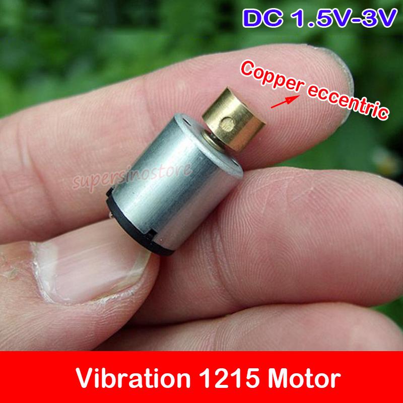 Mini Vibration 1215 Motor DC 1.5V-3V Micro Vibrating DIY Toy Massager Vibrator