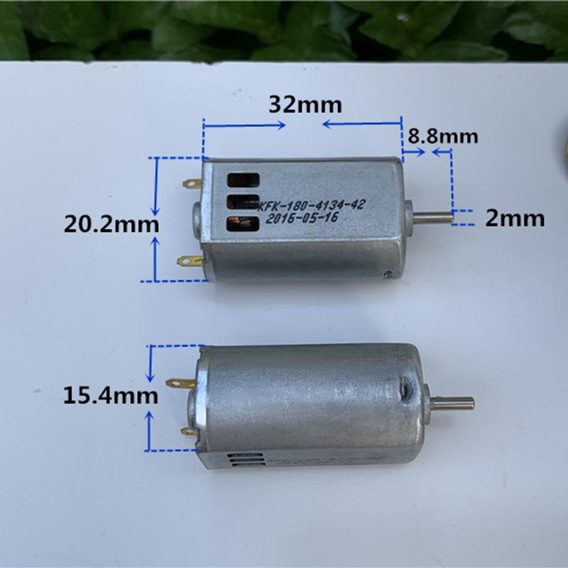 1pcs N20 DC4.5V 23000RPM High Speed Large Torque Magnetic Carbon Brush DC Motor