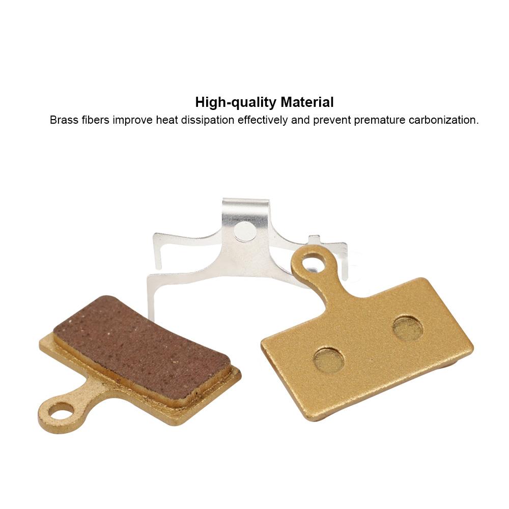 BIKEIN Metallic Disc Brake Pads for Shimano XTR M988//M985 2 Pairs New Package