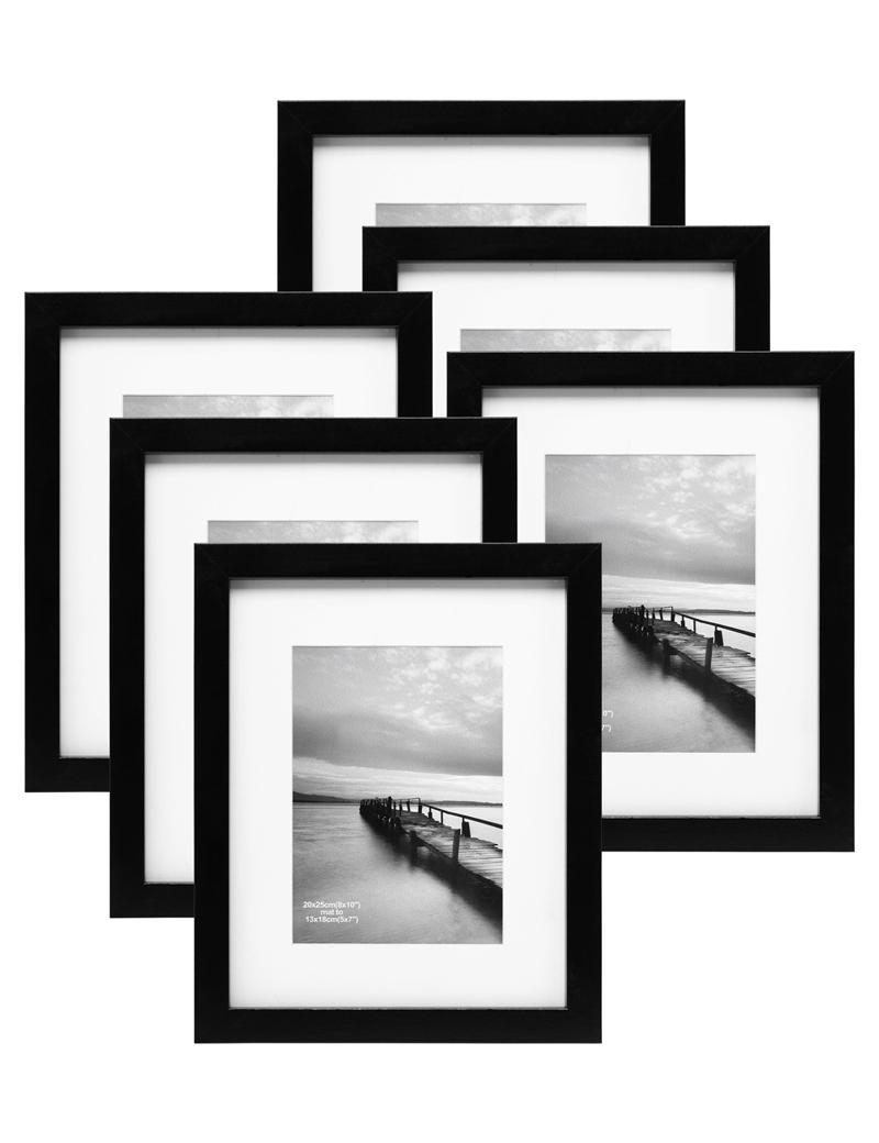 8x10 Inch Modern Design Photo Frame Set Picture Frames Multi Bulk ...