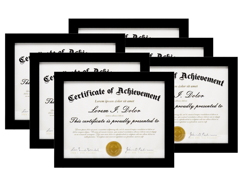 Document Photo Frame Picture Frames University Diploma License ...