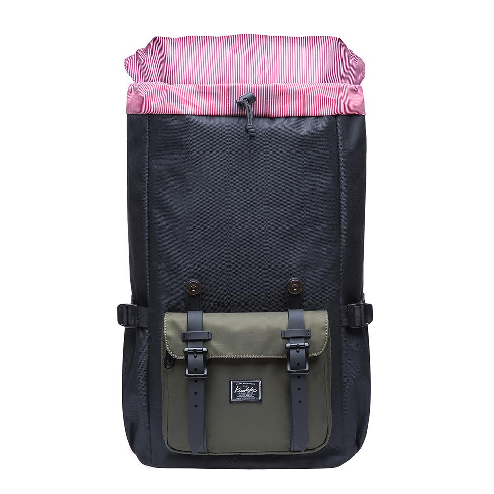 c5d3b0c4ebf1 Details about KAUKKO Unisex Travel Bag Laptop Backpack Computer Notebook School  Bag Hiking Bag