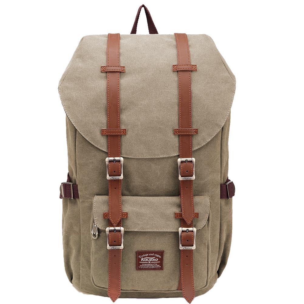 9487a7c5c6 Rucksack Damen Herren Schulrucksack KAUKKO Laptop Backpack Lässiger Daypacks