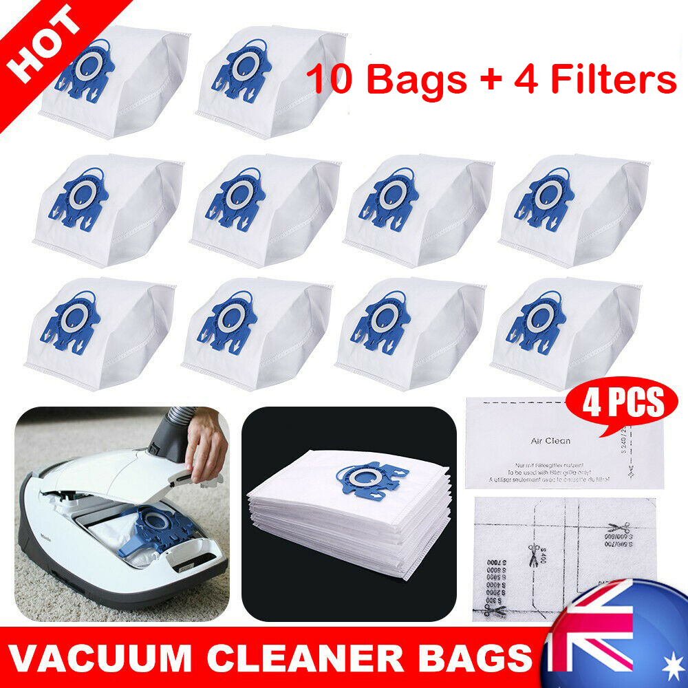 FIND A SPARE 10 Hoover Dustbags Hyclean GN Complete C3 Vacuum Bags For Miele S2000 S5000 S8000 C3 Complete C2 Classic C1 Pack of 10 Bags /& 2 Motor Filters /& 2 Airclean Filters