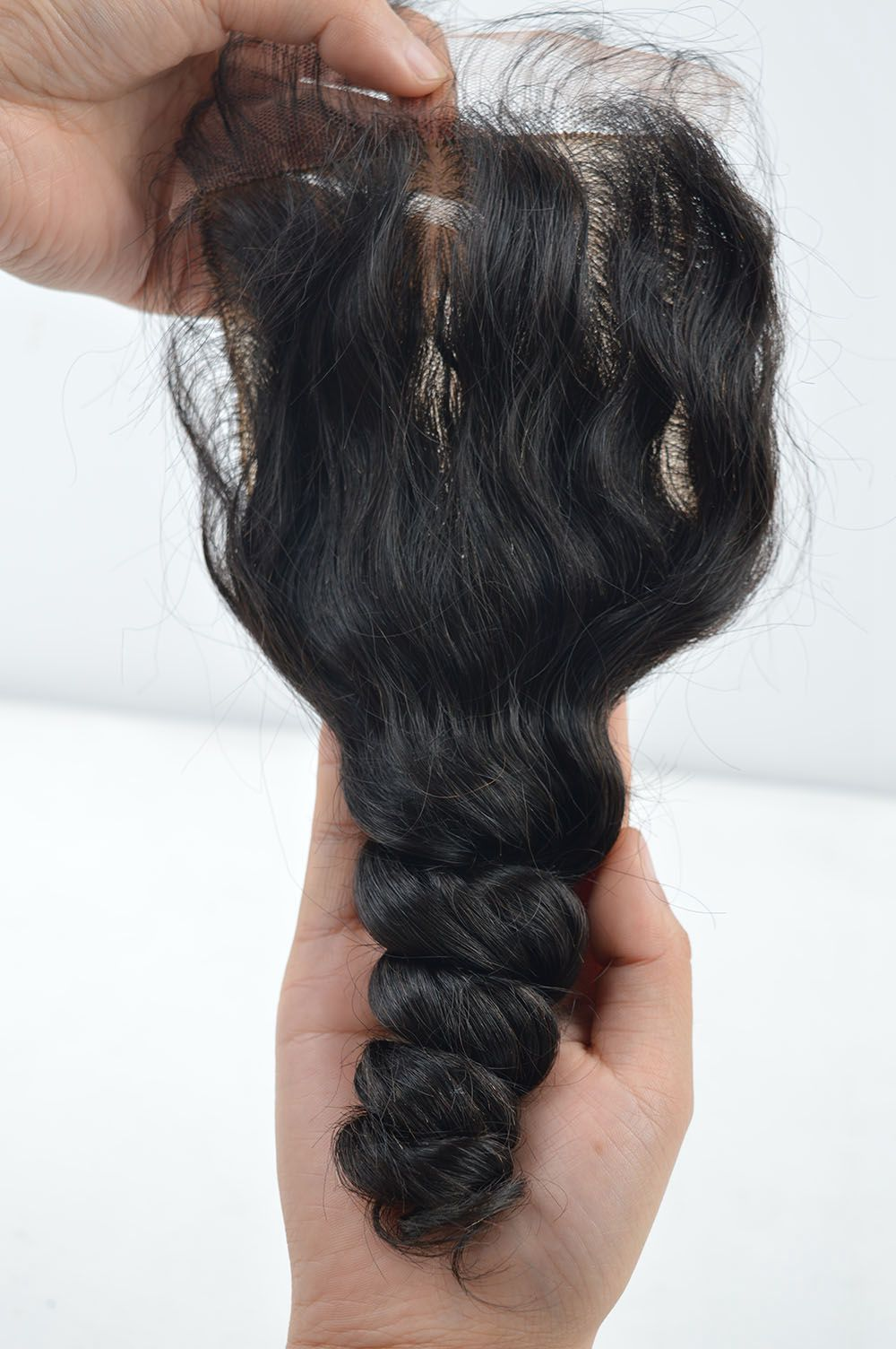 silk base closure loose wave-6