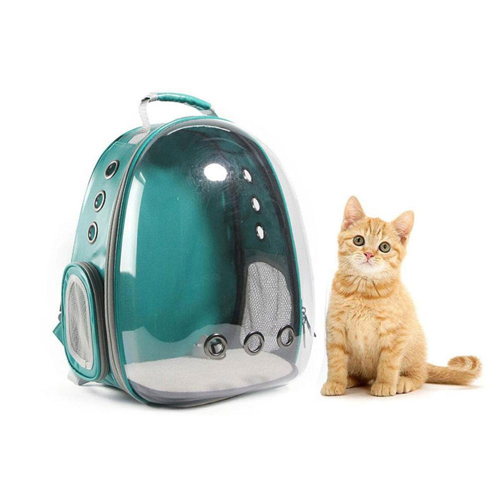 87371623ed Details about Space Capsule Bubble Pet Cat Puppy Dog Carrier Waterproof Handbag  Backpack Gift