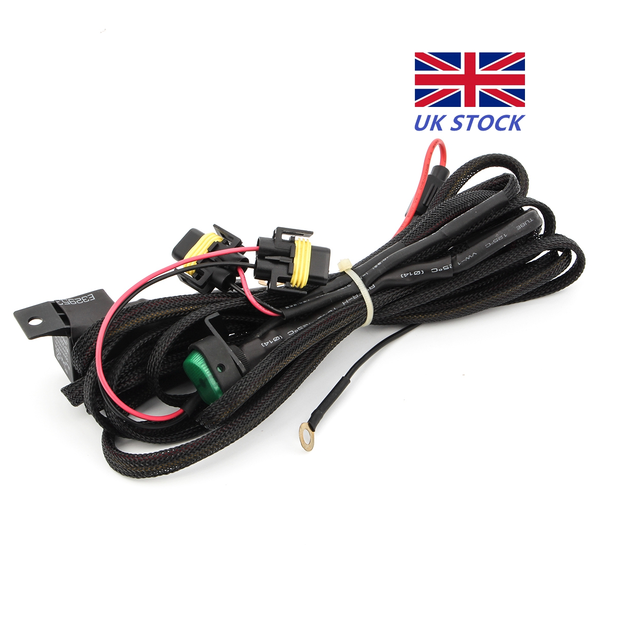 Fog Lights Wiring Harness Switch On Off Fuse For Bmw R1200gs F800gs 3 Way Diagram Light Relay With And Lighted Adv Led