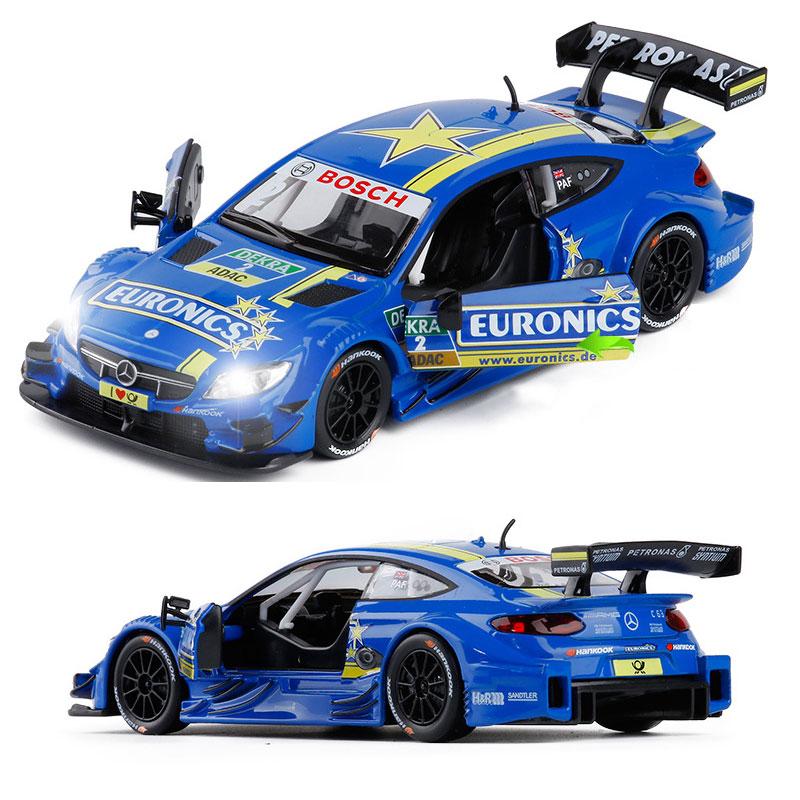 1:32 Audi RS5 DTM 2017 Rene Rast Die Cast Modellauto Spielzeug Pull Back