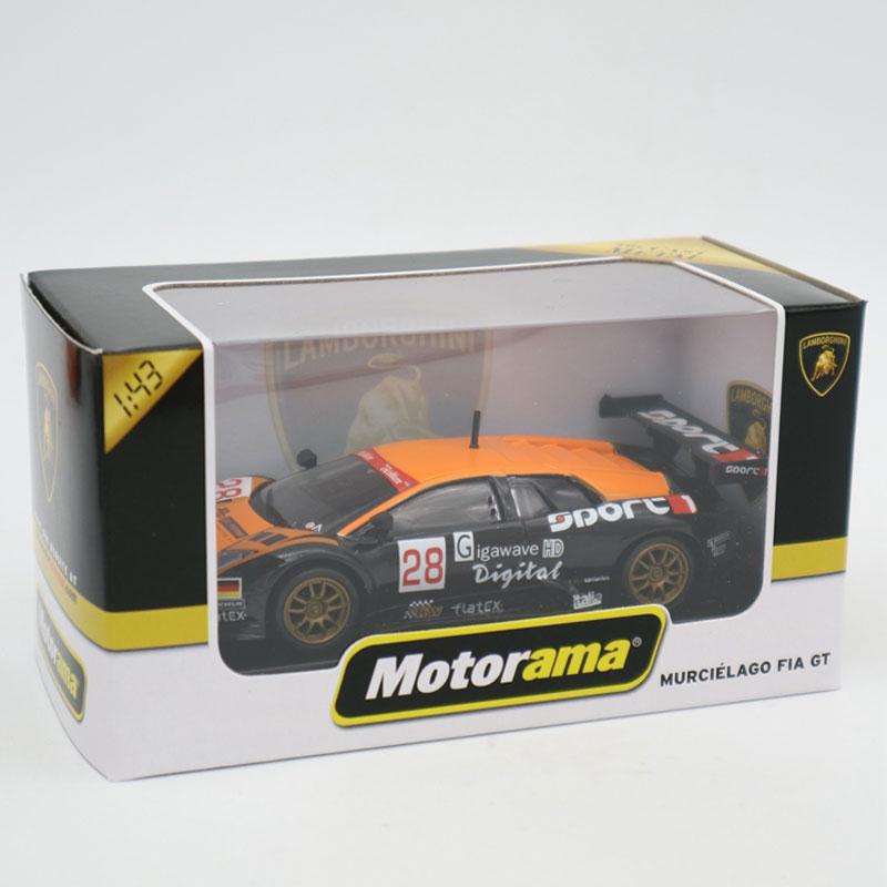 Lamborghini Murcielago FIA GT 1//43 Die Cast Modellauto Spielzeug Model Sammlung