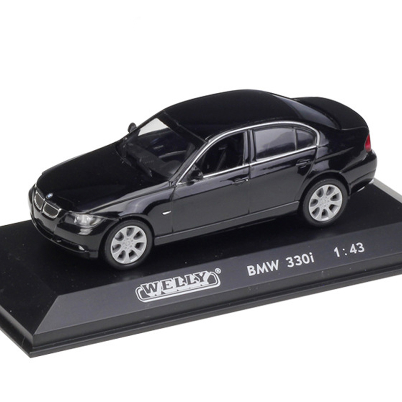 Details about BMW 3 Series 330i 1:43 Scale Car Model Diecast Toy Vehicle  Black Gift Collection