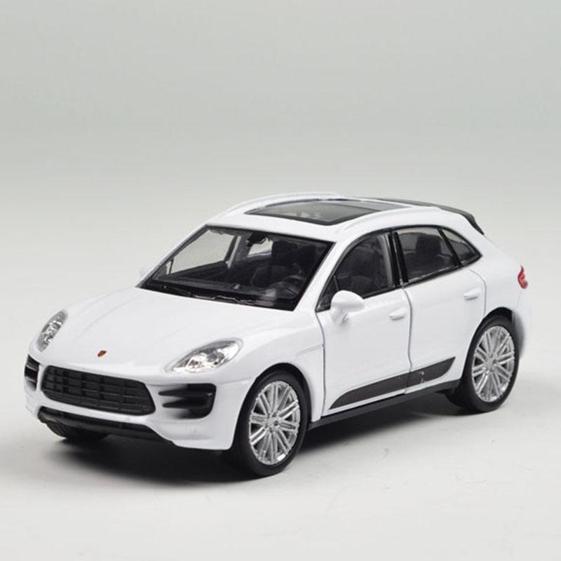 Porsche Suv: 1:36 Porsche Macan Turbo SUV Car Model Alloy Diecast Toy