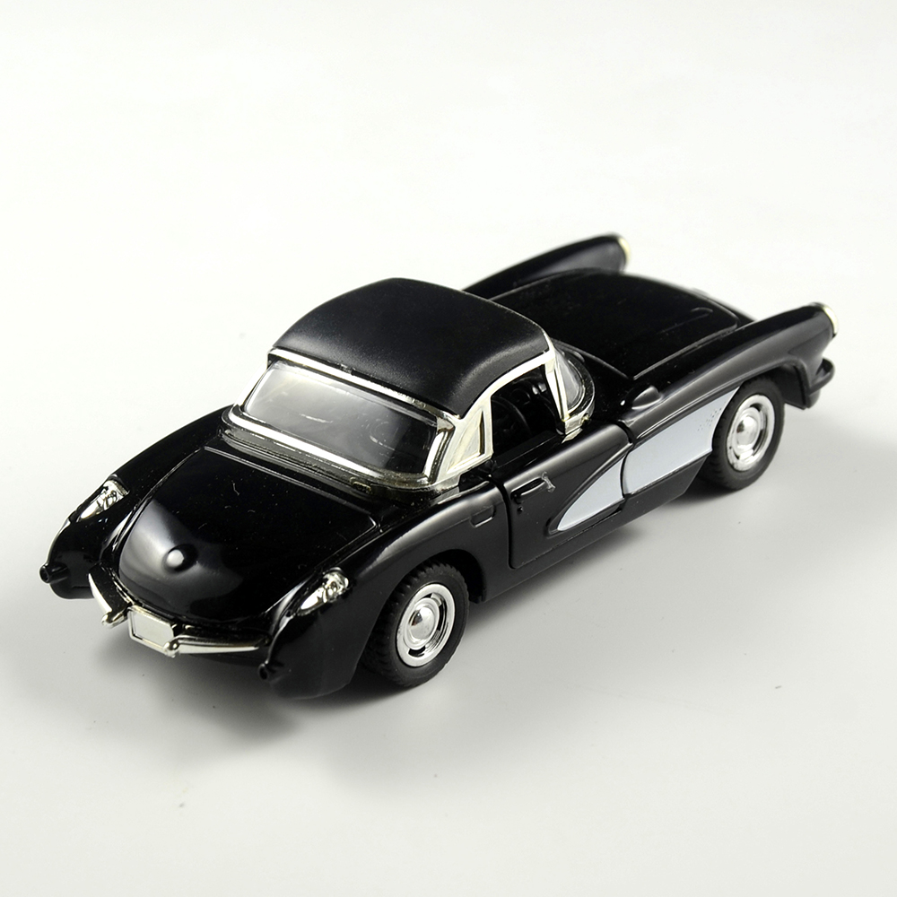 Vintage 1:32 1957 Chevrolet Corvette Alloy Diecast Car Model Toy ...