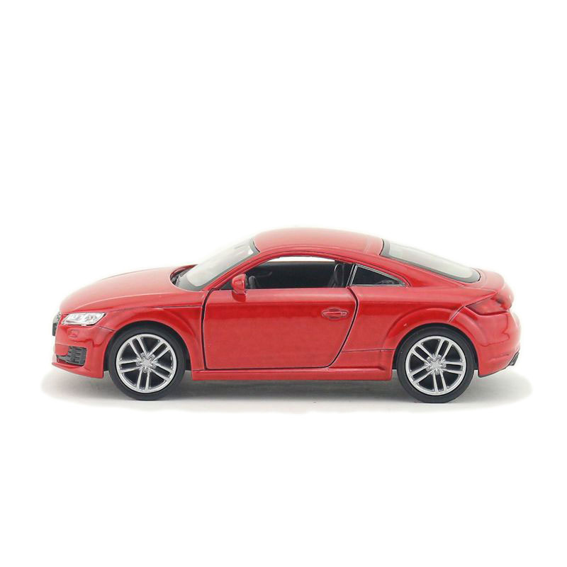 1:36 Audi TT Coupe Car Model Toy Vehicle Alloy Diecast Red Gift Collection Kids