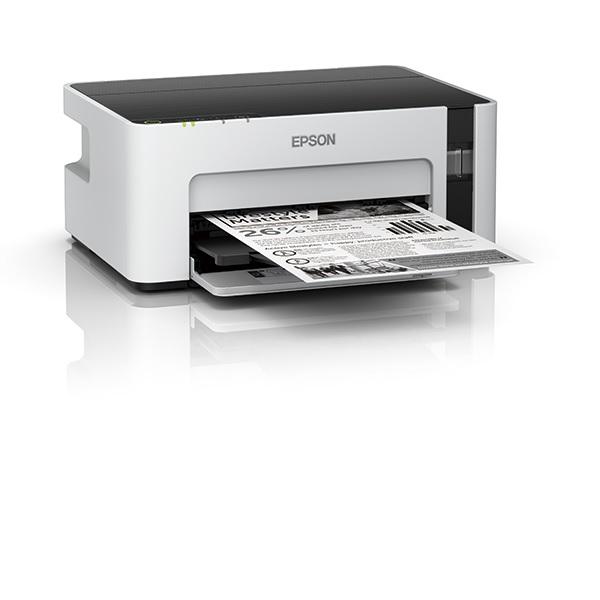 DHL Ship NEW EPSON EcoTank Monochrome M1120 Wi-Fi Ink Tank Printer 100V~240V