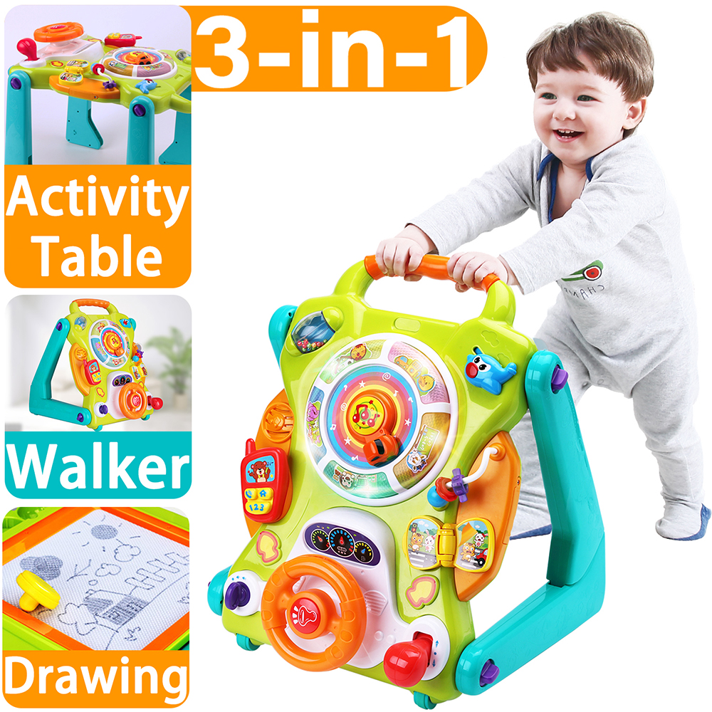 Christmas Gifts For 18 Month Old Boy.Details About Baby Sit To Stand Walkers Toys Birthday Gift For 6 9 12 18 Month 1 2 Year Olds