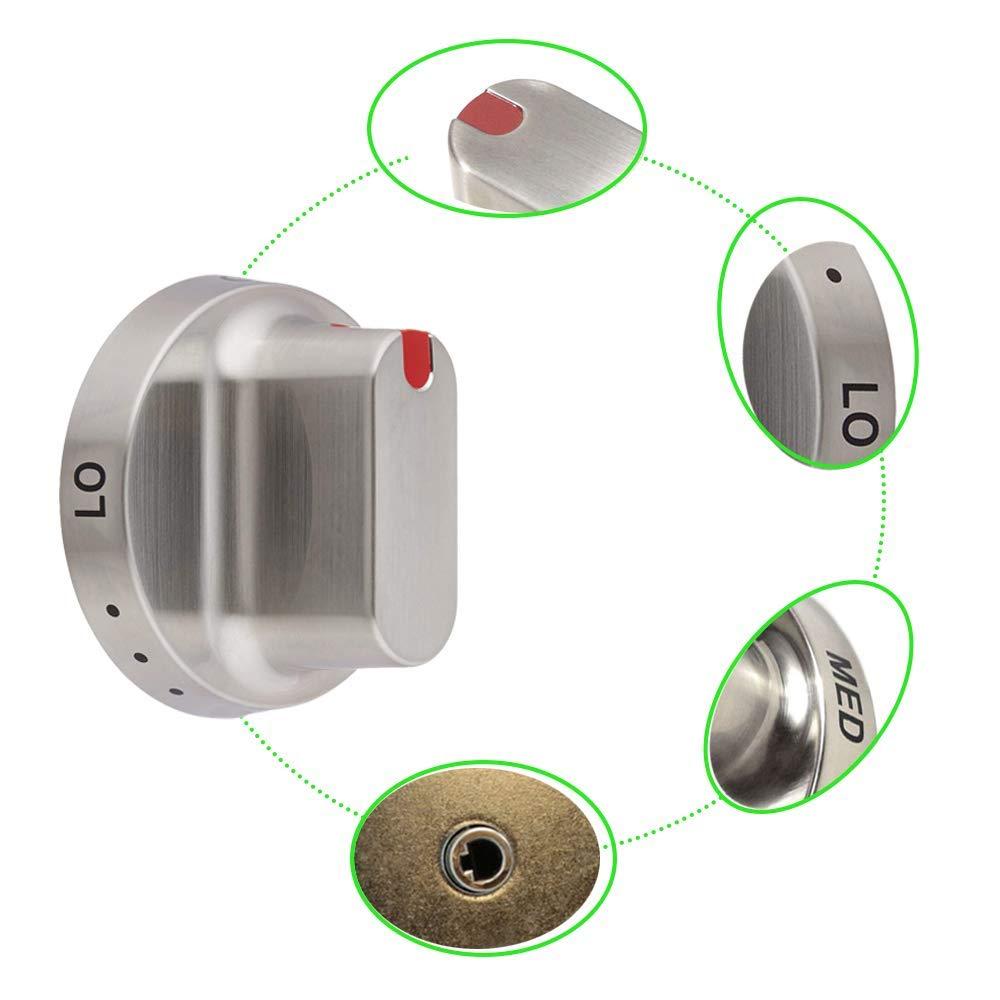Samsung Range Knob Dial Stainless Steel Oven DG94-00207B